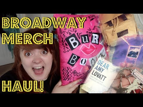 HUGE BROADWAY MERCH AND NYC HAUL!