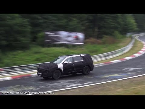2018 Hyundai Santa Fe  spied testing on the Nurburgring, Nordschleife