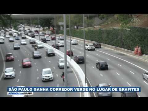 SP Ganha Corredor Verde No Lugar De Grafites