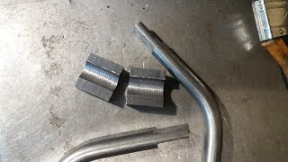 Prosty przyrząd do frezowania spłaszczenia na pręcie kształtowym