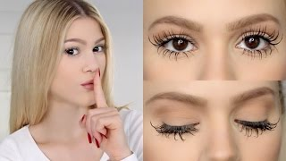 THE SECRET TO MY LASHES! thumbnail
