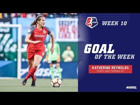 Week 10 Goal of the Week | Katherine Reynolds, Portland Thorns FC
