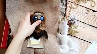 Авторская коллекционная игрушка Моль. Упаковка заказа. Отправка заказа.(, 2017-12-07T14:41:53.000Z)