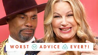 Billy Porter & Jennifer Coolidge Tear Apart Old Cosmo Tips—But We're Not Mad About It