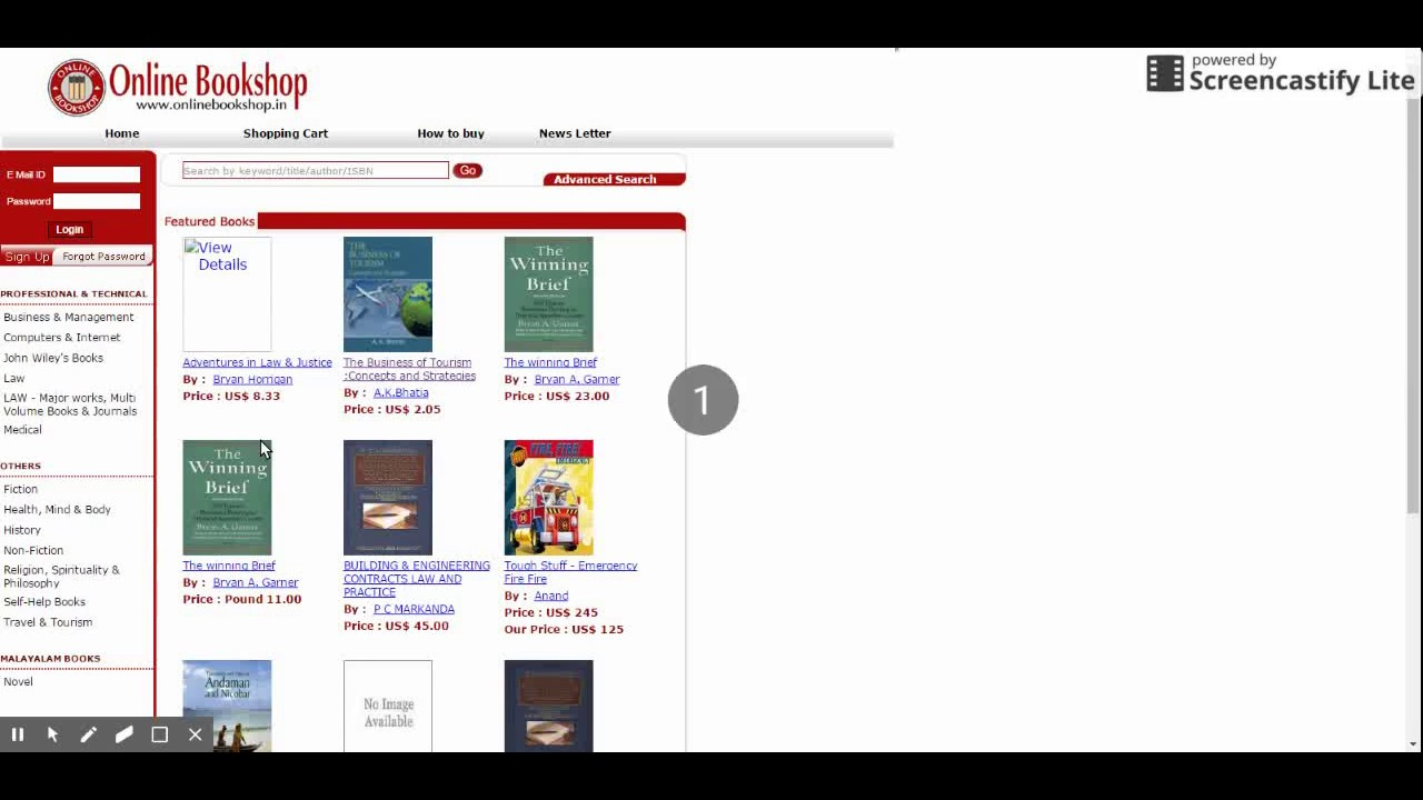 Online Yamuna Book Store Php Project Youtube