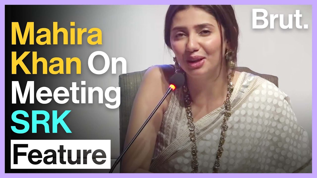 Pakistan's Mahira Khan On Working With SRK