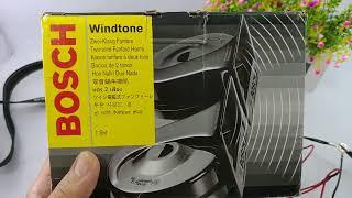 Test suara klakson keong bosch windtone original