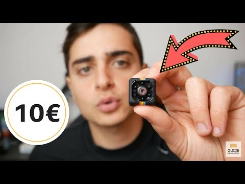 Questa Mini CAMERA SPIA Costa 10 Euro ! 👌 SQ11