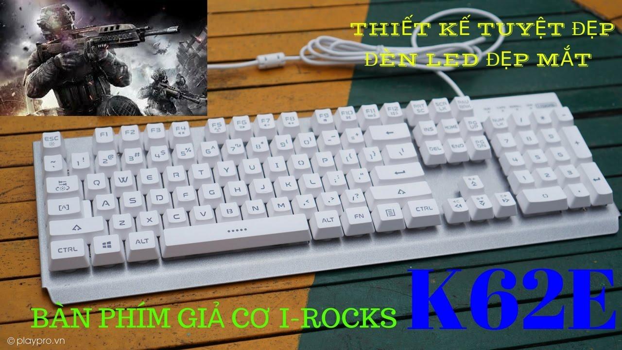 Bàn phím i rocks k62e   Phím giả cơ I rock K62e   Irock K62e