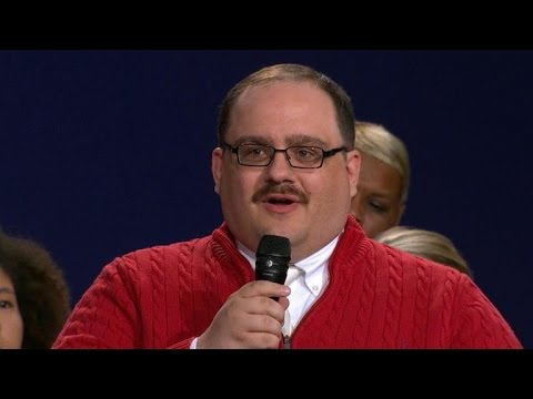 The winner of the presidential debate? Kenneth Bone