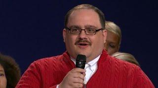 The winner of the presidential debate? Kenneth Bone