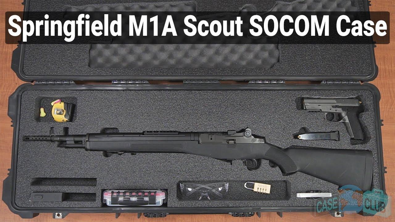 Springfield M1A Scout / SOCOM / Ruger Mini-14 / Ruger 10/22 Case (Gen-2) - Video