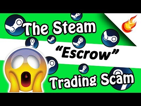 "Steam Traders Using Fake ""Escrow"" App To Scam Users"
