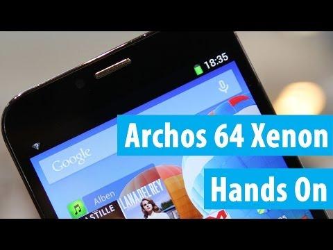 Archos 64 Xenon im Hands On und Kurztest | Deutsch