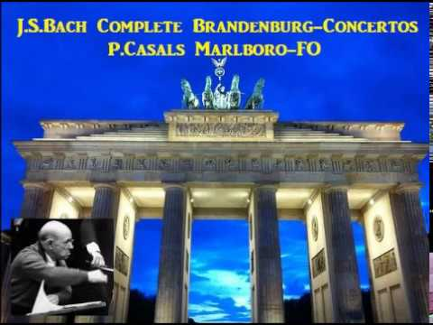 J.S.Bach Complete Brandenburg-Concertos [ P.Casals Marlboro-FO ] (1964)