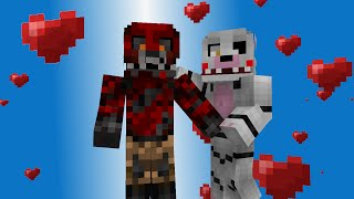 Love Story Foxy, Mangle Five Nights At Freddy s Animation, Minecraft Animaton, FNAF, angry birds