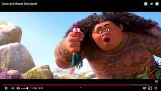 Coco and Moana Craziness! super funny video!