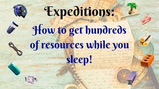 Expéditions: Comment obtenir des centaines de ressources pendant que vous dormez (fr) Fortnite sauve le monde