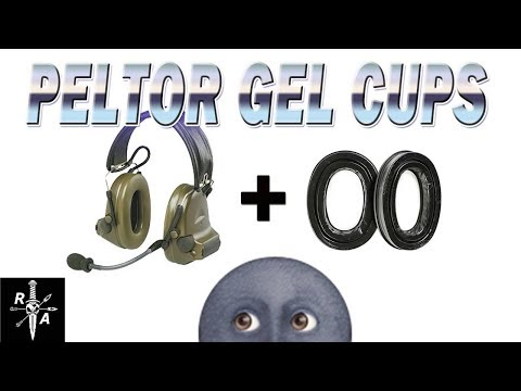 PELTOR GEL EARCUPS Unboxing, Installation and Comparison