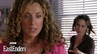 Chrissie Watts hacks off Kate Mitchell's hair! - EastEnders - BBC