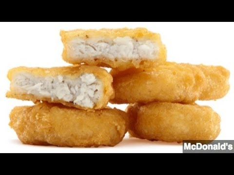 Whats Really Inside Your Chicken Nuggets Not Much Chicken Youtube
