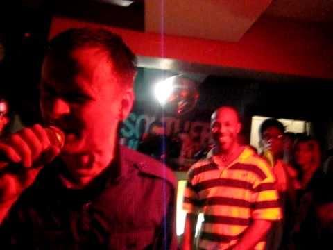 Fuck Brompton - Rob Hooch on speed remix! Performed at Hip Hop Karaoke London, 3/2/11