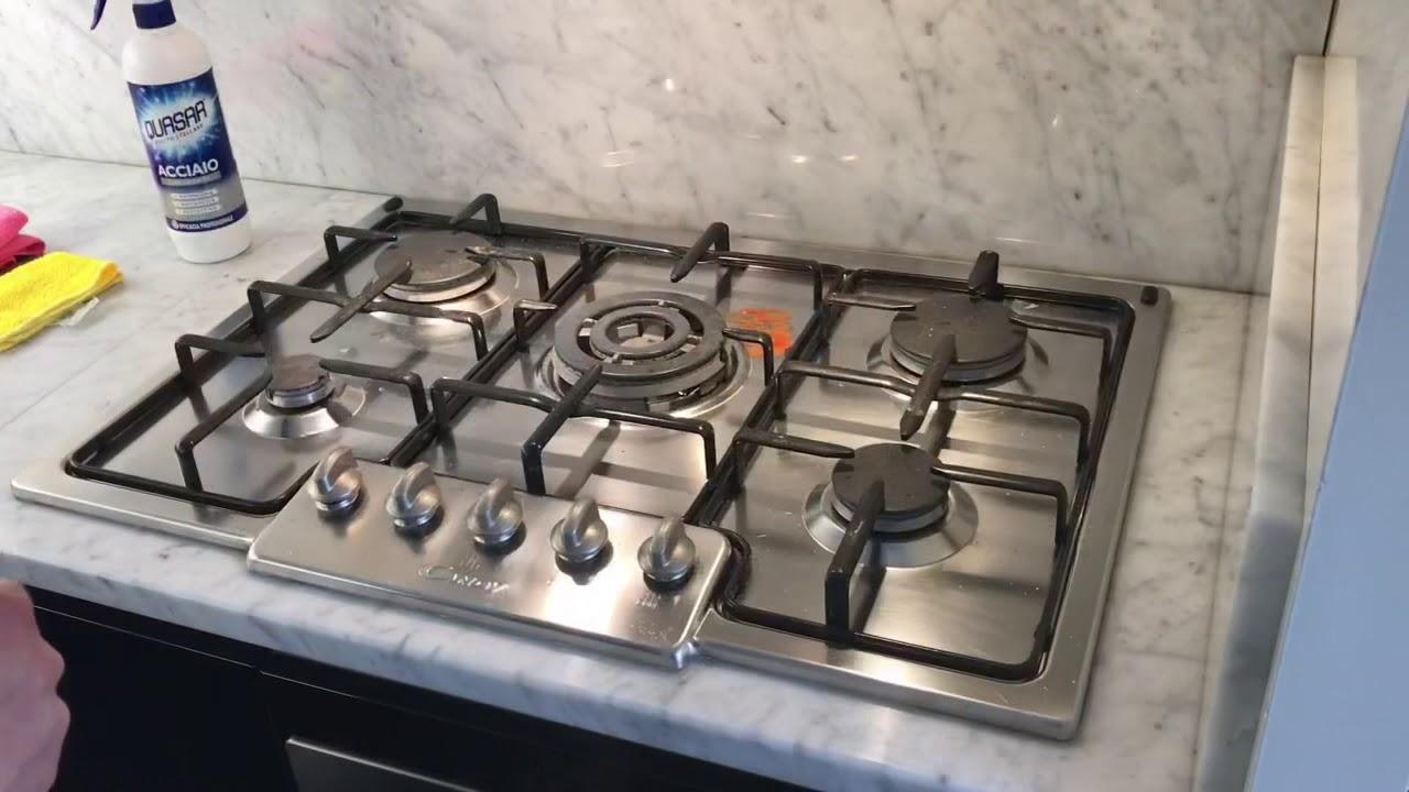 Piano Cucina In Acciaio.Come Pulire Piano Cottura In Acciaio