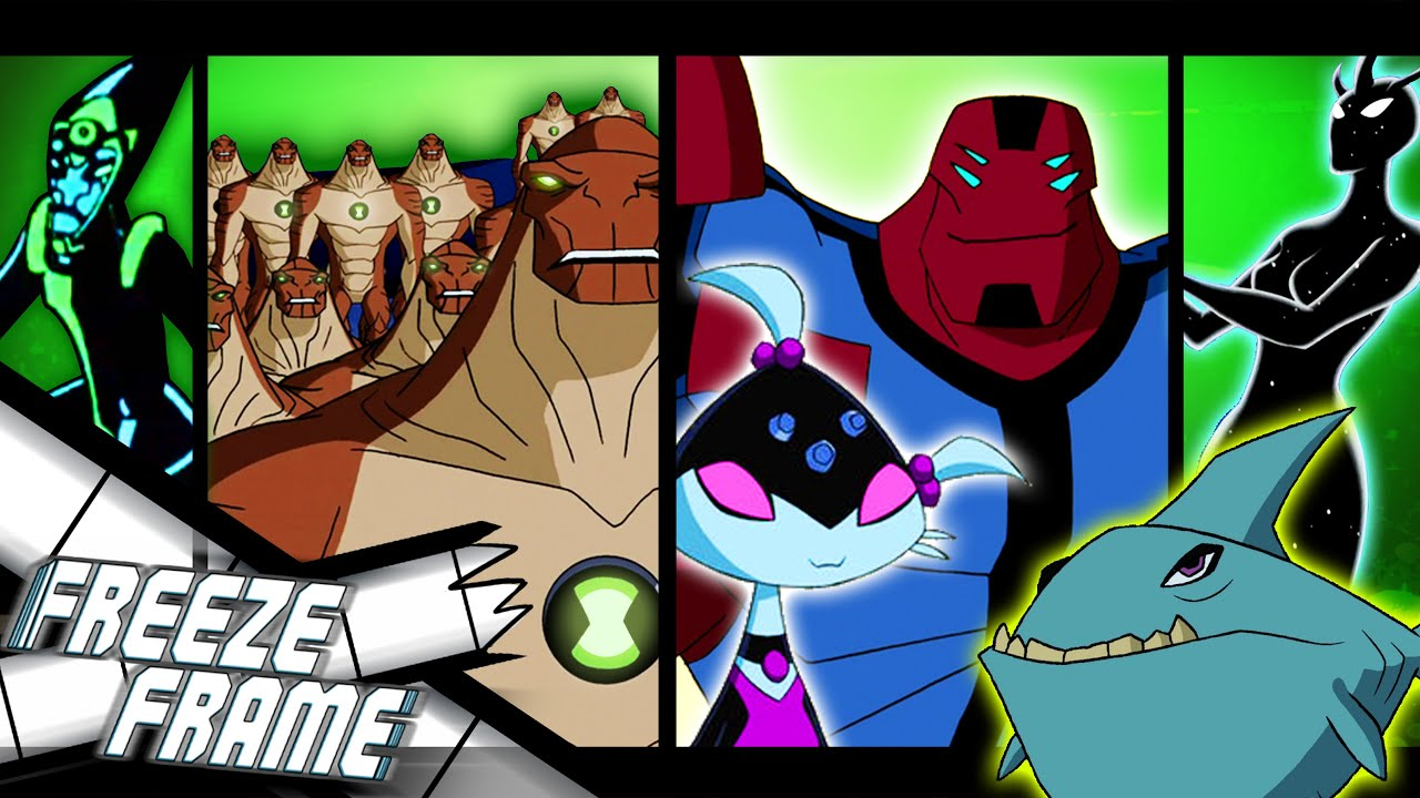 Every Time Ben 10's Aliens Appear As Civilians (or Anyone NOT Ben)