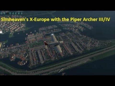 Simheaven X-Europe With JustFlight Arrow III