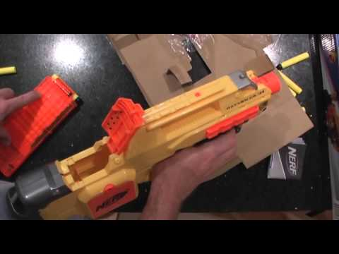 review nerf elite rayven