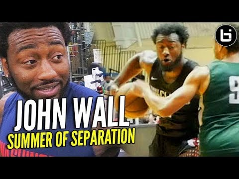 John Wall's #1 PG is WHO?! + the Unstoppable Move, Brad Beal & More! Summer of Separation /// Ep 3