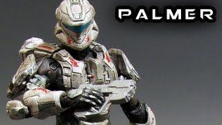McFarlane Halo 4 SARAH PALMER Figure Review