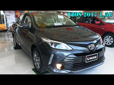 Toyota Vios 2017 รุ่น 1.5 G cvt