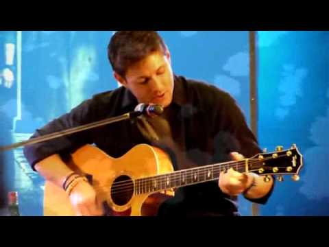 """Jensen Ackles singing """"The Weight"""" - YouTube"""