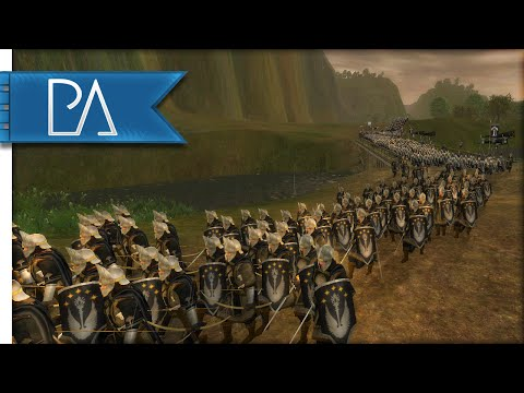 BATTLE OF THE GLADDEN FIELDS - Third Age Total War Gameplay