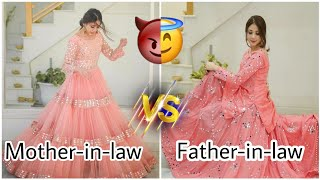 Mother-in-law VS Father-in-law…