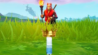 FORTNITE... Except a water bottle decides my enemies fate(Fortnite Water bottle Challenge)