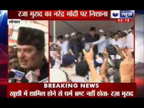 India News: Raza Murad praises  MP Chief Minister Shivraj Singh Chauhan