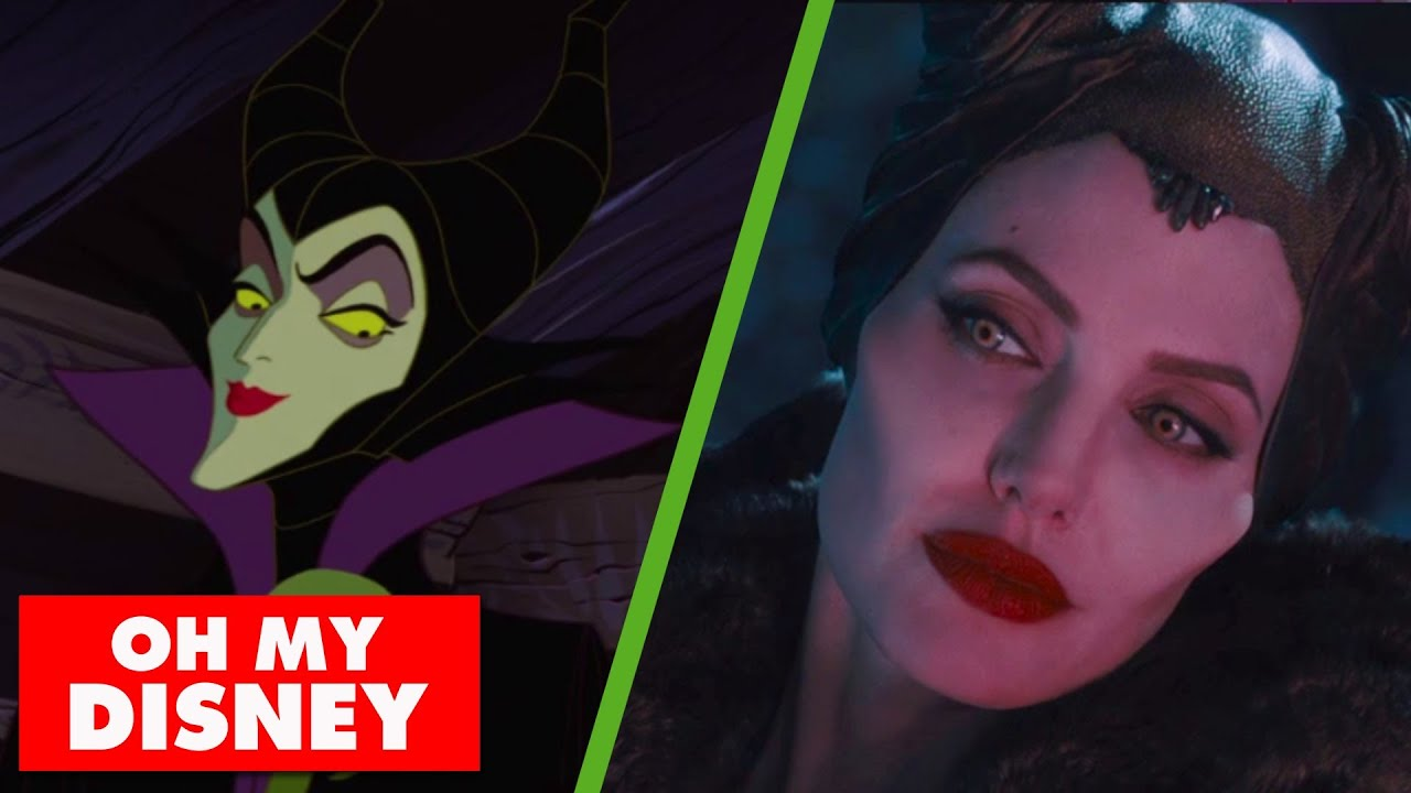 The Maleficent Trailer Gets Animated Oh My Disney