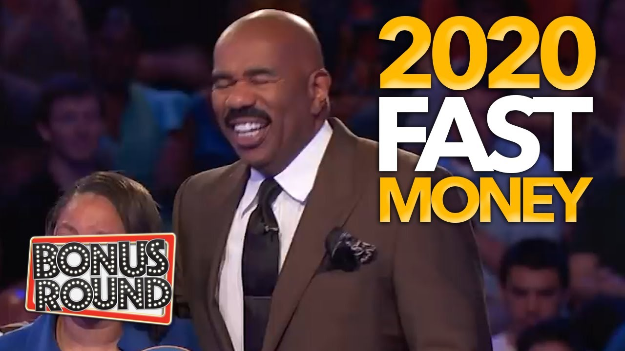 FUNNY 2020 Fast Money Family Feud With Steve Harvey