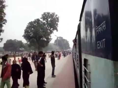 Azamgarh railway station Godan express