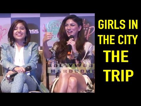 Girl In the City   Shweta Tripathi   Sapna Pabbi   The Trip   Bindaas   Web Series Launch    2017
