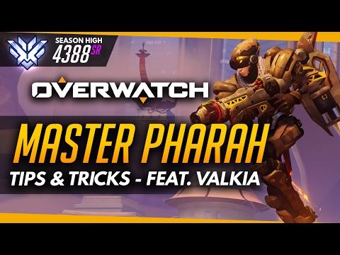 Overwatch   Master Pharah  - Tips And Tricks (ft Valkia)