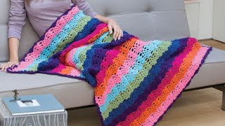 Video How to Crochet A Pineapple Stitch Afghan download MP3, 3GP, MP4, WEBM, AVI, FLV Juli 2018