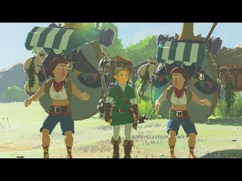 What Happens if Beedle Meets Beedle? Zelda Breath of the Wild