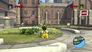 Lego Marvel Super Heroes Yorkville Gold Brick HD Wii U