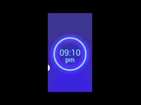 Neon Alarm Clock Free App Review