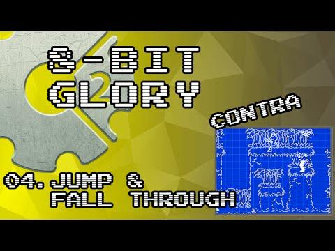 [8-bit Glory]:Contra - 04 Jump & Fall Through
