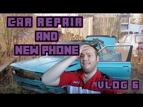 VLOG 6 Car Repair and New Phone!