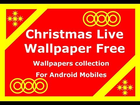 Christmas Live Wallpaper Free-Countdown Timer 2018| Live Wallpapers For Android Mobiles